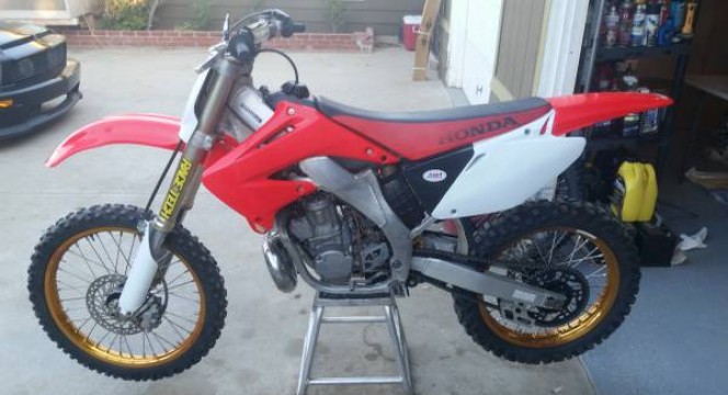 Mx dirt bike rentals - $199