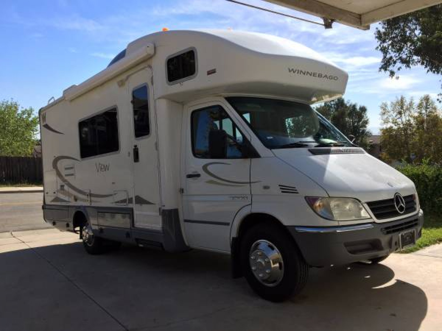 2007 WINNEBAGO VIEW 23H SINGLE SLIDE CLASS C RV