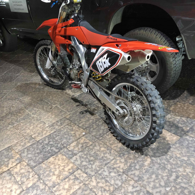 CRF 250-R, Fast, Fun, and Light, Rent it Today!
