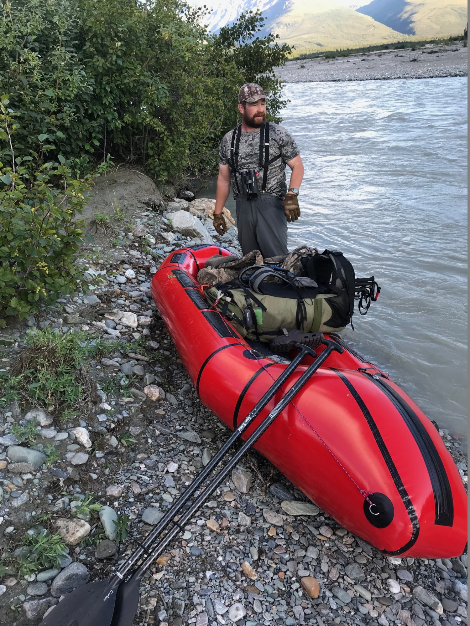 Alpacka Forager packraft - Red